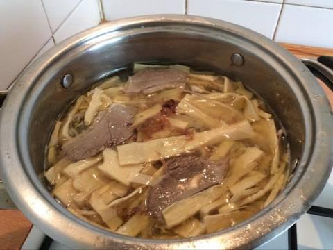 Gỏi vịt và bún măng vịt recipe step 4 photo
