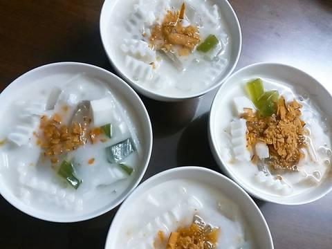 Chè dừa non lá dứa recipe step 8 photo