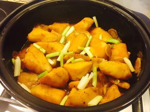 Cá lóc phi lê kho riềng recipe step 8 photo