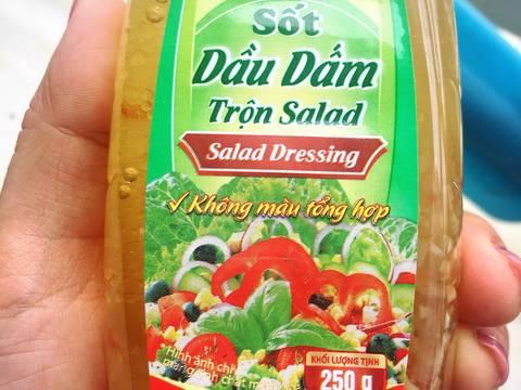 #eatclean - Salad rau mầm hoa quả thập cẩm recipe step 3 photo