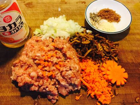 Bún thịt củ từ, khoai lang tím recipe step 3 photo