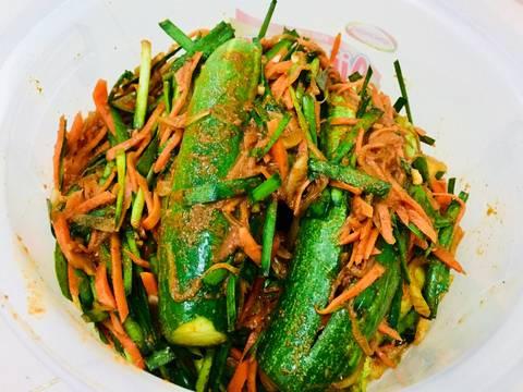 Kim chi dưa leo recipe step 4 photo