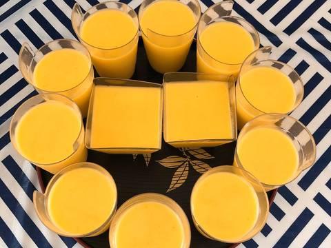 Mango Pudding bước làm 5 hình