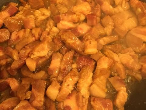 Củ cải trắng kho với thịt ! recipe step 5 photo