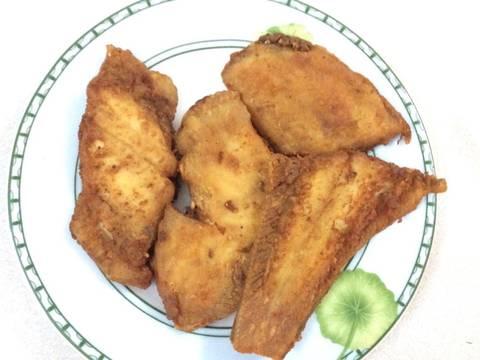 Cá lưỡi trâu Ba Tri ( Thờn bơn ) chiên giòn recipe step 3 photo