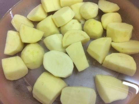 Canh xương khoai tây recipe step 1 photo