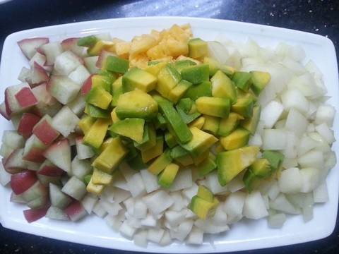 Salad trái cây recipe step 1 photo