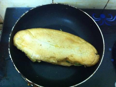 Bánh mì trứng đơn giản recipe step 5 photo