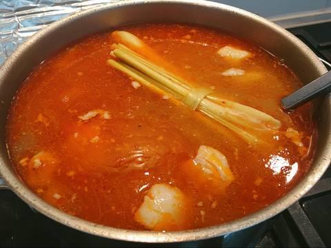 Bún sườn tôm chua cay recipe step 6 photo