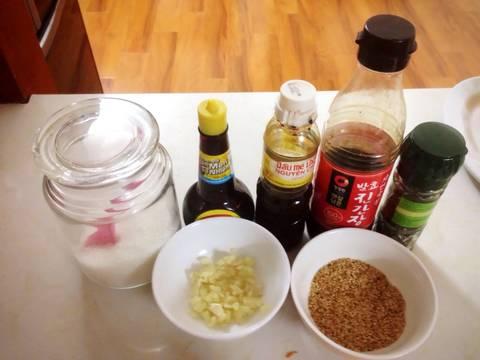 Miến xào Japchae Hàn Quốc recipe step 11 photo