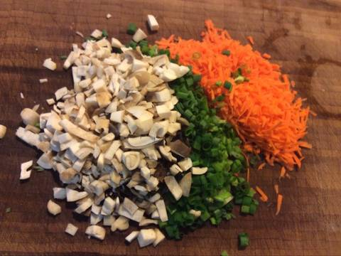 Cà tím chay nhồi đậu recipe step 2 photo