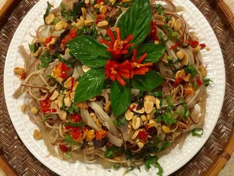 Gỏi bắp chuối tai heo ! recipe step 6 photo