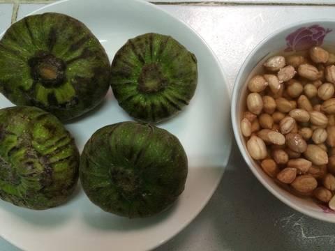 Hôm nay mình tham gia Lễ Hội Món Chay, xin được chia sẻ với các bạn món chay của xứ Huế quê mình nhé. #chay Trái Vả kho nấm recipe step 3 photo