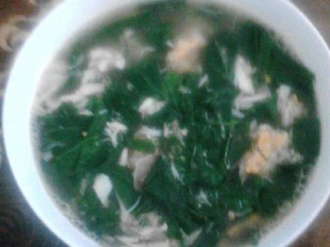 Canh rau đay cua recipe step 3 photo