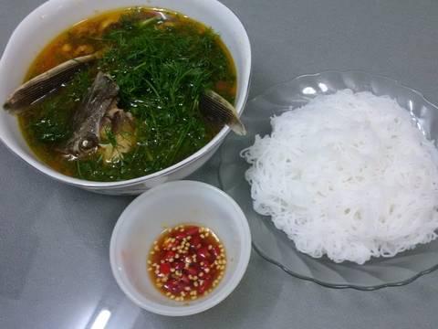 Cá tầm nấu canh thì là recipe step 5 photo