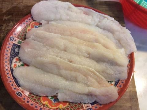 Cá ba sa chiên, sốt me recipe step 1 photo