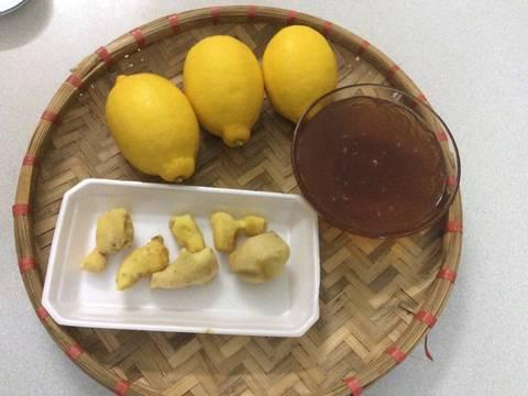 Chanh vàng, gừng vàng ngâm mật ong recipe step 1 photo