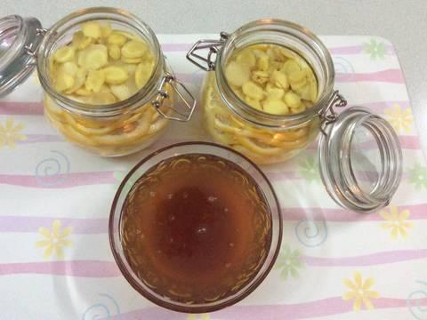 Chanh vàng, gừng vàng ngâm mật ong recipe step 3 photo
