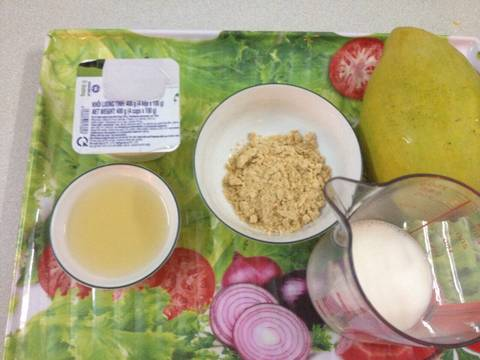 Sinh tố xoài cho thân hình thon thả recipe step 1 photo