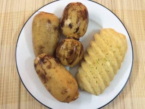 Sinh tố củ sen và đậu đen recipe step 1 photo