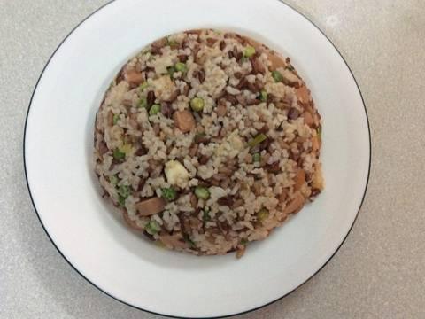 Cơm chiên gạo lức dưỡng sinh recipe step 3 photo