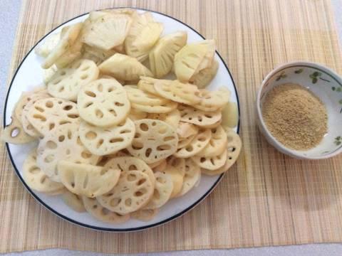 Sinh tố củ sen và đậu đen recipe step 2 photo