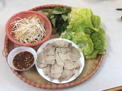 Làm bánh ướt bột gạo lứt cuốn recipe step 2 photo