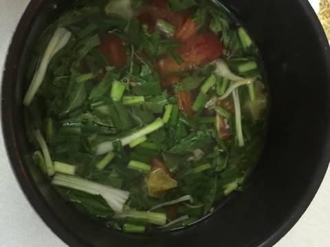 Canh bắp bò nấu khế và cà chua recipe step 5 photo