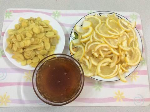 Chanh vàng, gừng vàng ngâm mật ong recipe step 2 photo