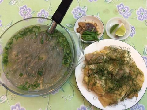 Miến nấu nước gà luộc recipe step 3 photo