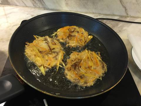 Bánh nấm thập cẩm recipe step 5 photo