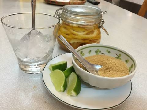 Cocktail chanh đường Brasil recipe step 1 photo