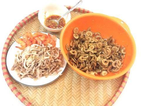 Gỏi sung muối với thịt ba chỉ và tôm chua recipe step 1 photo