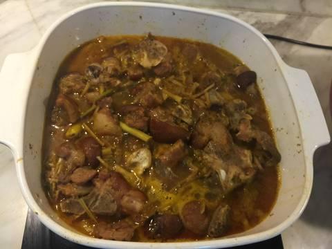 Giả cầy nấu theo cách của quê O Gái recipe step 4 photo