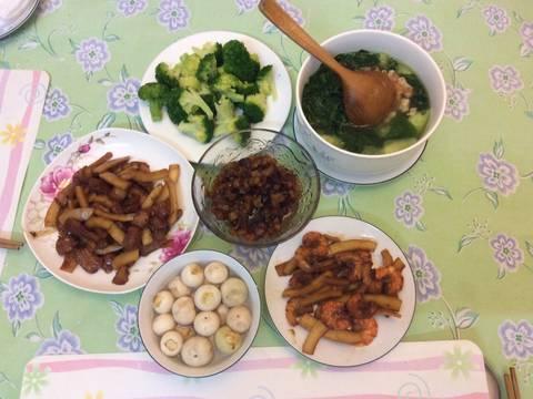 Tôm rim cùi dừa recipe step 3 photo