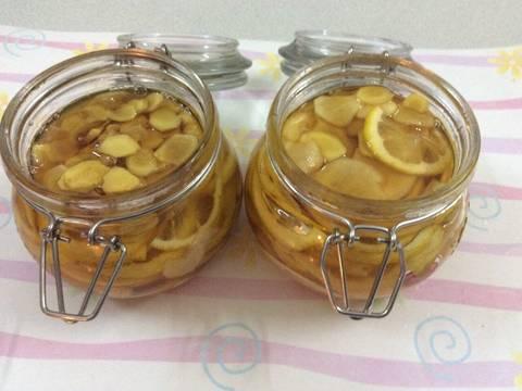 Chanh vàng, gừng vàng ngâm mật ong recipe step 4 photo