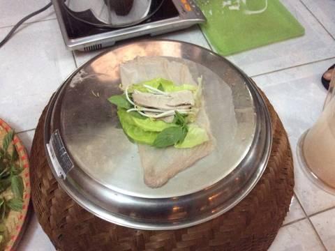 Làm bánh ướt bột gạo lứt cuốn recipe step 3 photo