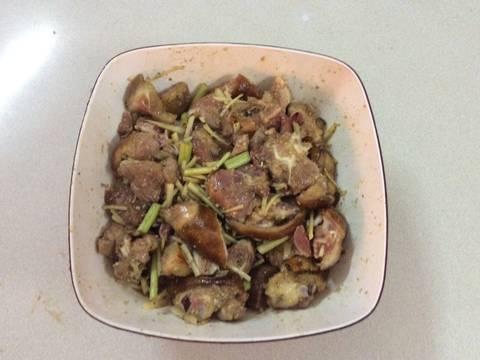 Giả cầy nấu theo cách của quê O Gái recipe step 3 photo