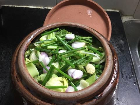 Dưa cải muối recipe step 5 photo