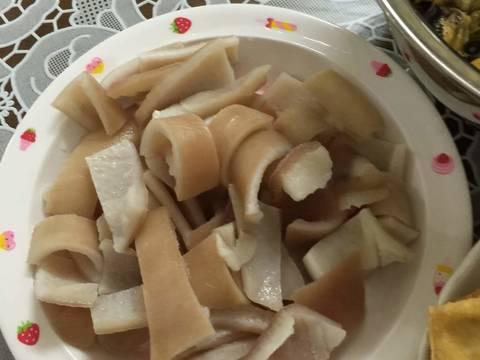 Ốc nấu chuối đậu recipe step 6 photo