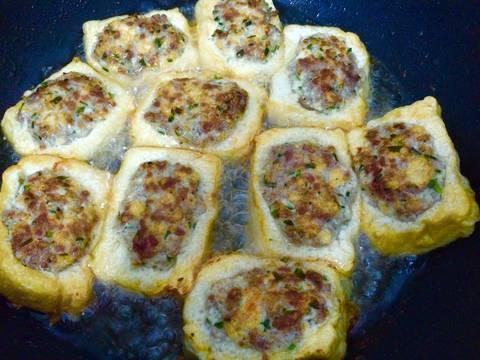 Đậu phụ nhồi thịt sốt cà chua recipe step 4 photo