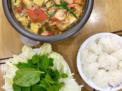 Lẩu riêu tôm cua recipe step 12 photo