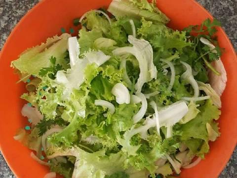 Salade gà quay recipe step 9 photo