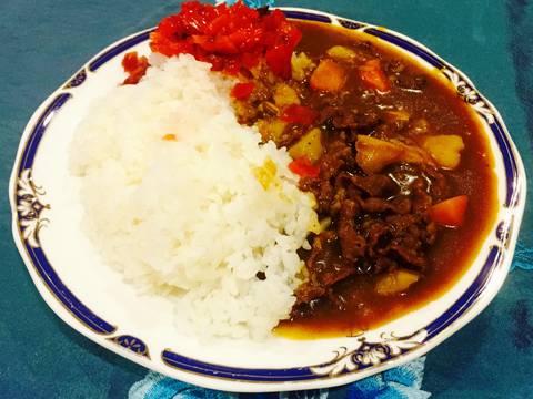 Cơm cà ri thịt bò Nhật Bản recipe step 15 photo