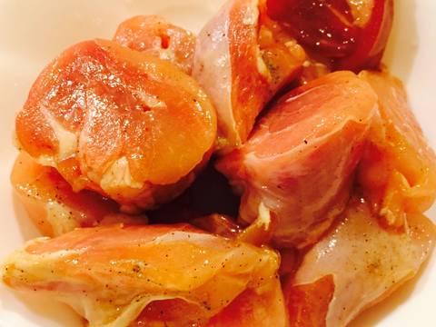 Thịt gà xào chấm sốt giấm recipe step 1 photo