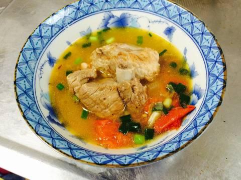 Canh sườn nấu sấu recipe step 7 photo