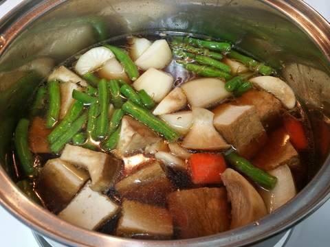 Rau củ kho chay recipe step 6 photo