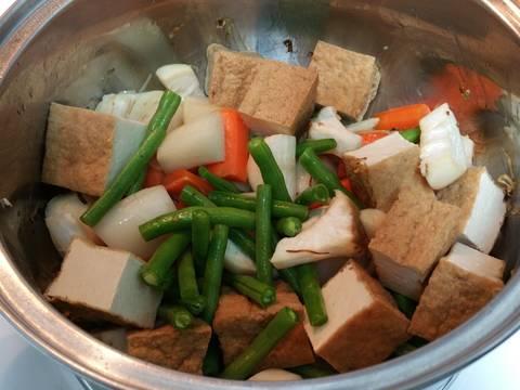 Rau củ kho chay recipe step 5 photo
