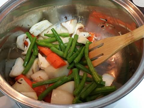 Rau củ kho chay recipe step 3 photo