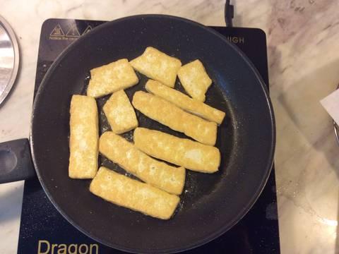 Bì trộn thính chay recipe step 4 photo